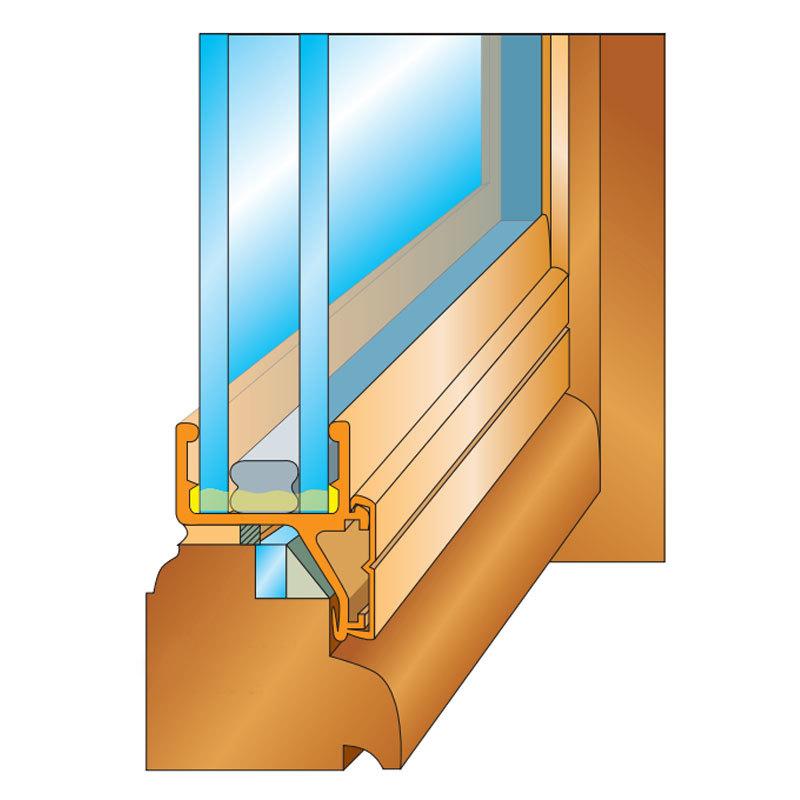 Cr ations en verre double vitrage verre isolant for Double vitrage de renovation