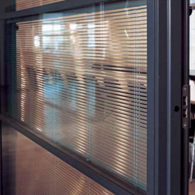 Cr ations en verre double vitrage double vitrage avec - Fenetre pvc avec store integre ...