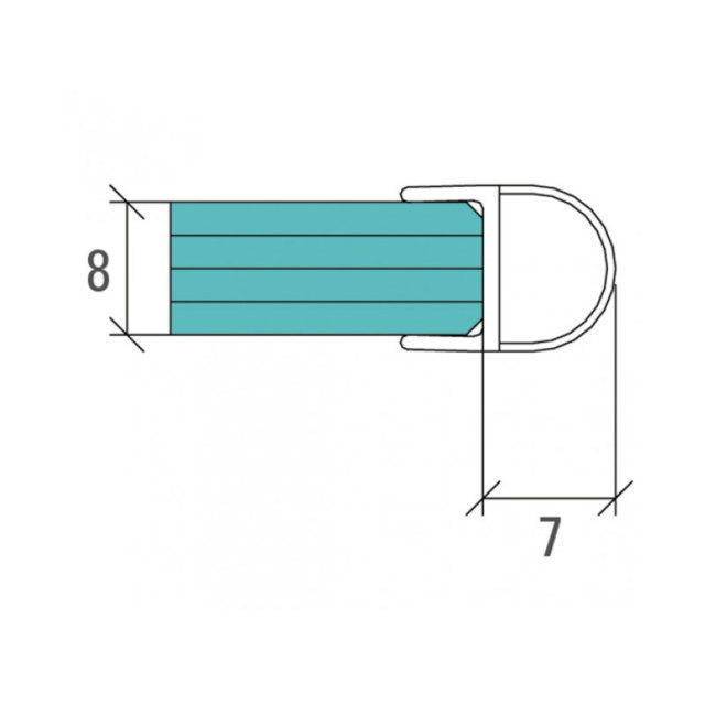 cr ations en verre bain et douche joint d 39 tanch it pour parois de douche en verre avec. Black Bedroom Furniture Sets. Home Design Ideas