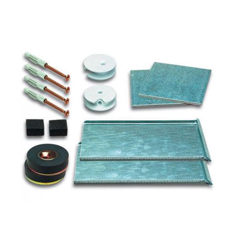 Accessoires support et fixation verre et miroir pattes for Verre et miroir