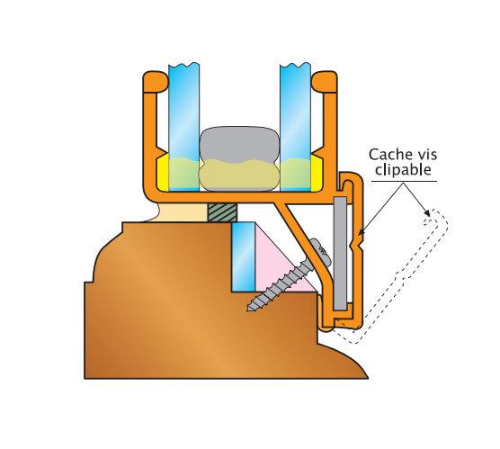 cr ations en verre double vitrage verre isolant r novation avec argon 24 mm pvc ch ne dor. Black Bedroom Furniture Sets. Home Design Ideas