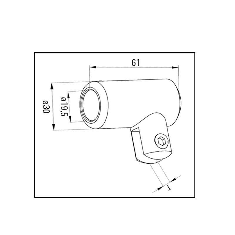 Accessoires pour la douche raccord de verre 90 degr s - Accessoires pour douche ...
