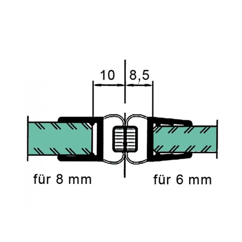 cr ations en verre bain et douche joint d 39 tanch it en alignement 180. Black Bedroom Furniture Sets. Home Design Ideas