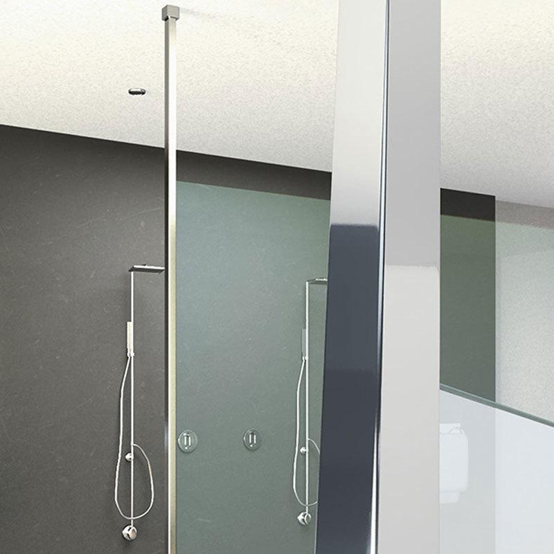 Accessoires pour la douche poteau sol plafond u9 for Accessoires de douche a fixer