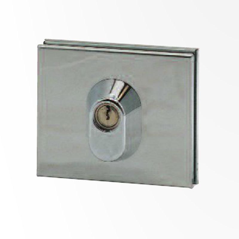 accessoires pour portes en verre serrure basse